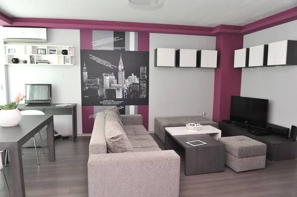 Маленькая квартира с 2 комнатами
