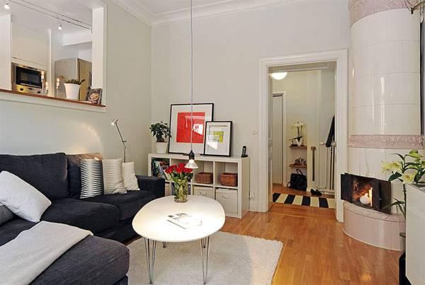 Маленькая квартира в винтажном стиле