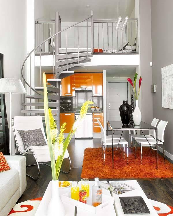Маленькая двухэтажная квартира