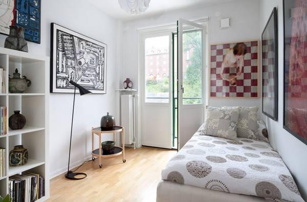 Маленькая удобная спальня