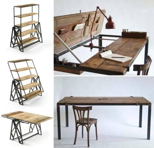 Раскладные столы под старину