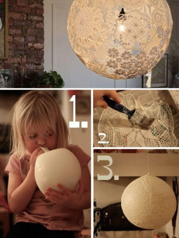 Как сделать в домашних условиях плафоны