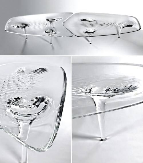 Журнальный столик от Zaha Hadid