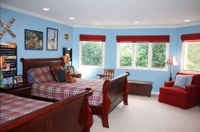 Детская комната в традиционном стиле