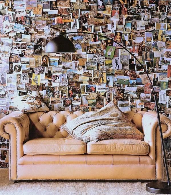 Декор для дома из открыток