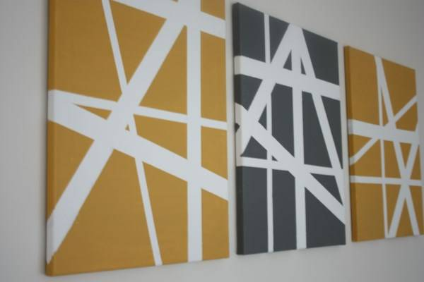 Декор для стен из нескольких картин