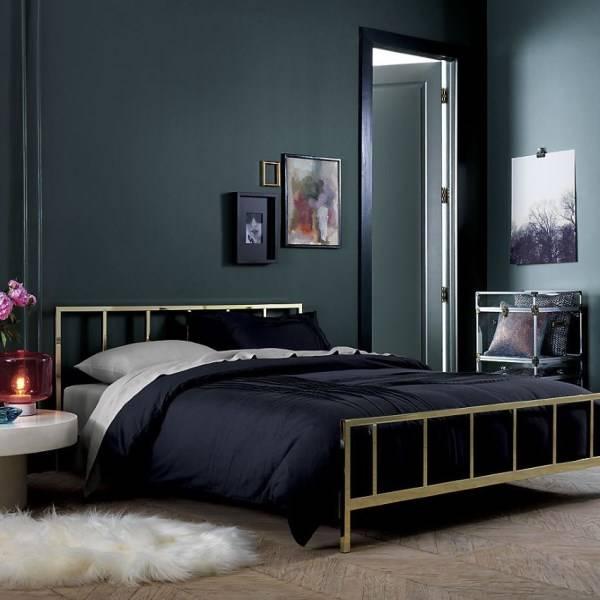 Простой, но богатый дизайн спальни
