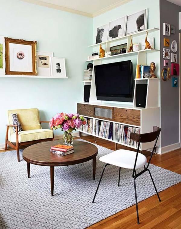 Дизайн очень маленькой гостиной
