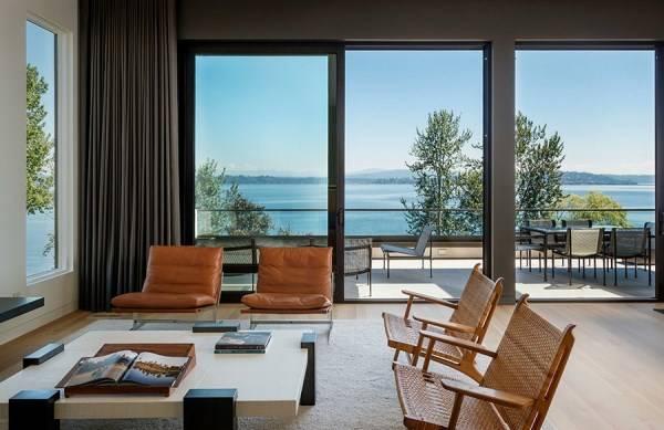 Дизайн гостиной в нейтральных тонах