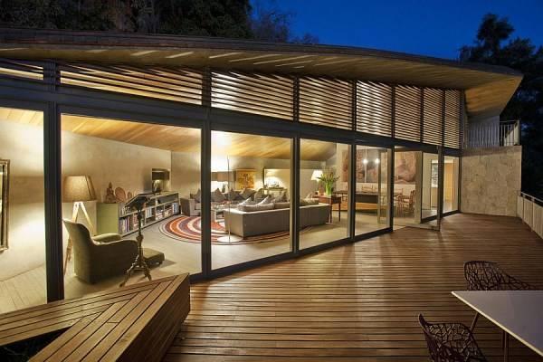 Дизайн гостиной в ярком современном стиле