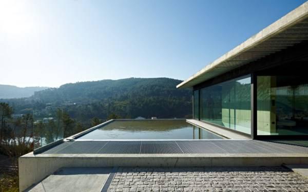 Дом с бассейном дизайн