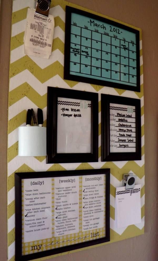 Настенный декор домашнее расписание