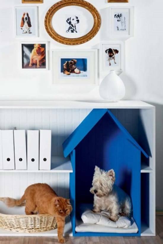 Самодельный домик для собаки
