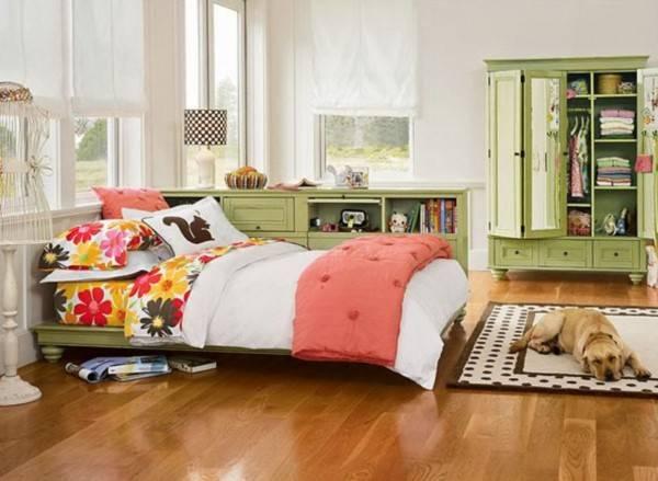 Очень элегантная комната для девочки