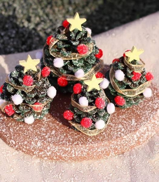 Маленькие елочки на Новый Год