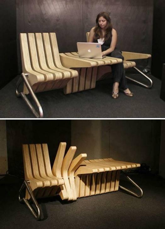 Дизайнерская функциональная мебель