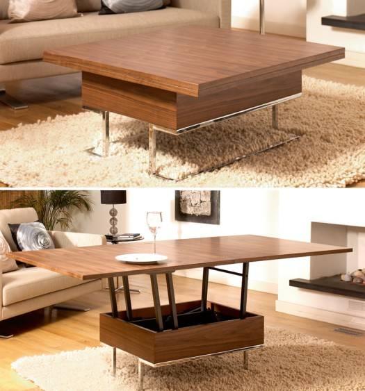 Раскладной кофейный столик