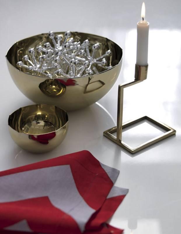 Золотой настольный декор