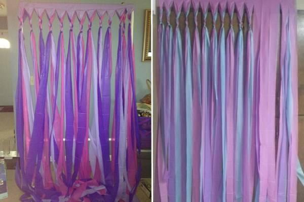 Идеи оформления штор