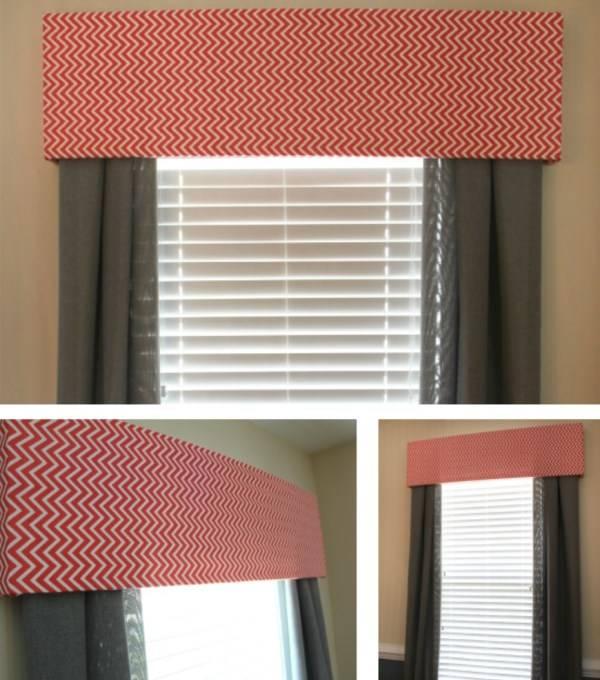 Стильное оформление окна