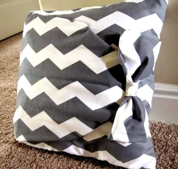 Ткань вокруг подушки