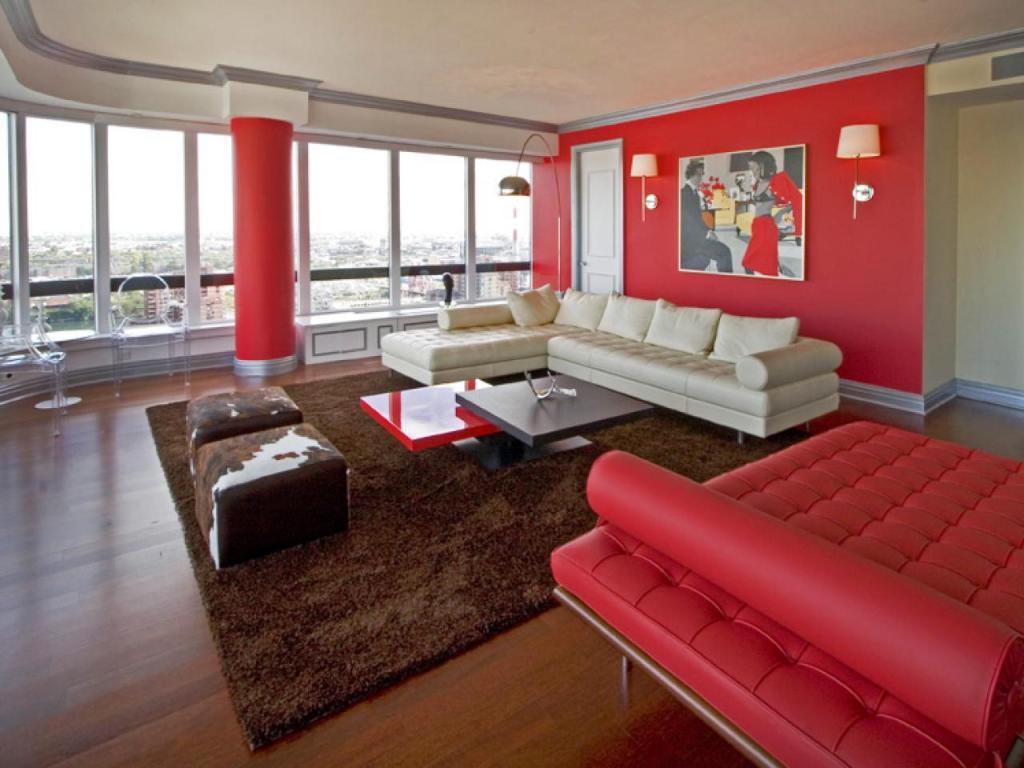 Дизайн интерьера в красном цвете по фэн шуй
