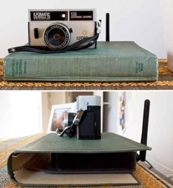 Декор для дома из книги