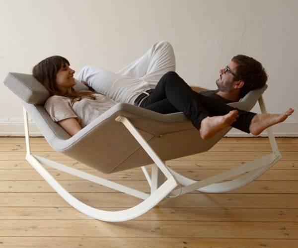 Дизайнерская мебель - кресло качалка