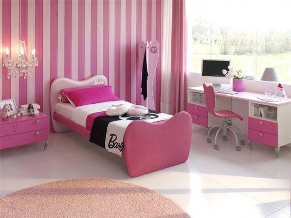 Детская комната в стиле барби