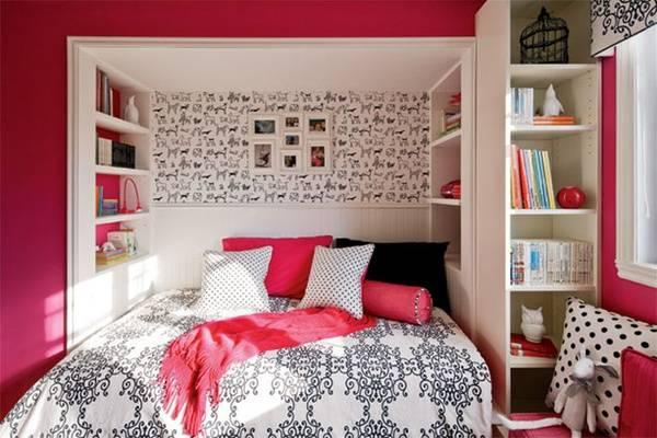 Дизайн комнаты подростка с альковом