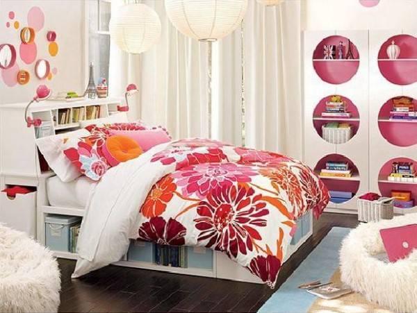 Дизайн детской комнаты с круглыми элементами