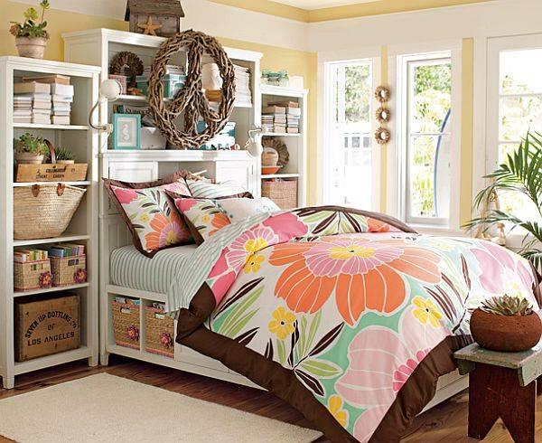 Комната для девочки в тропическом стиле