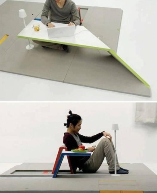 Креативная офисная мебель Origami