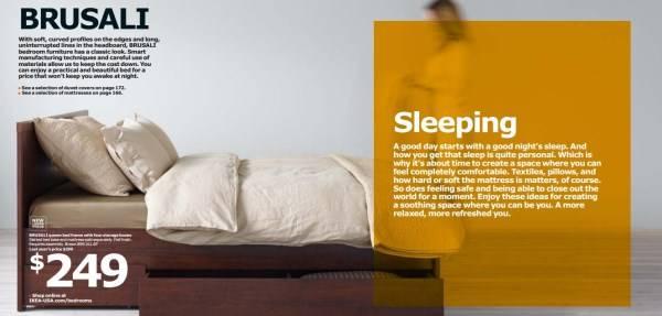 Кровать с поддоном каталог IKEA 2015