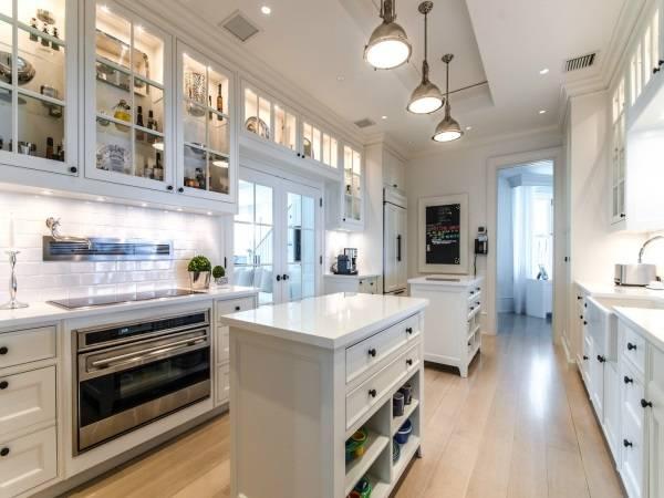 Celine Dion'un mutfak tasarımı