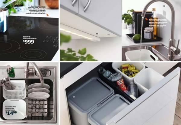 Новый каталог мебели для кухни IKEA 2015