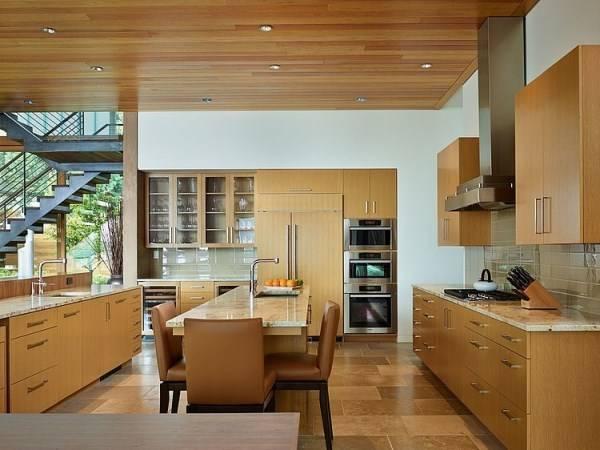 Дизайн кухни в доме мечты