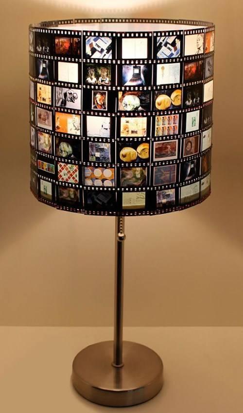 Лампа из кадров диафильмов
