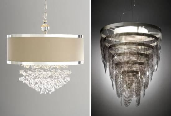 Стильные современные люстры на сайте Pinterest
