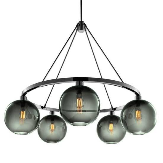 Потолочный светильник с лампами Эддисона