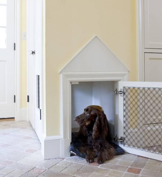Место для большой собаки в квартире