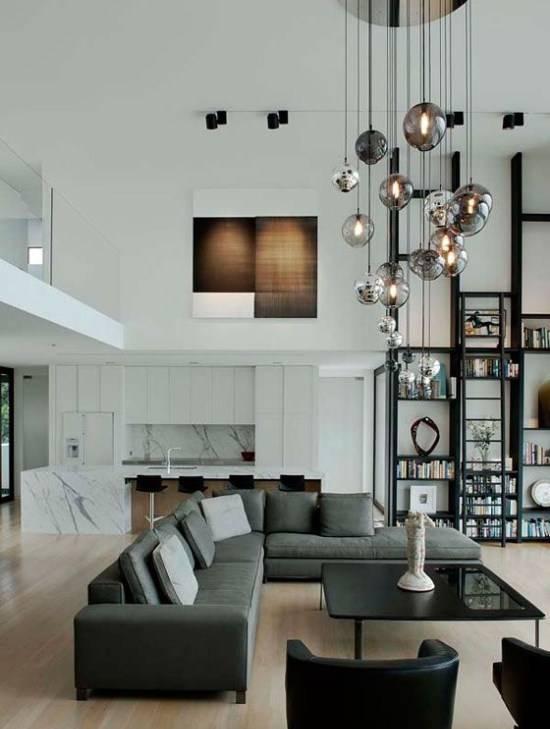Светильник под высокий потолок