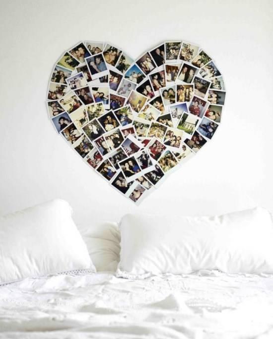 Настенный декор в спальню