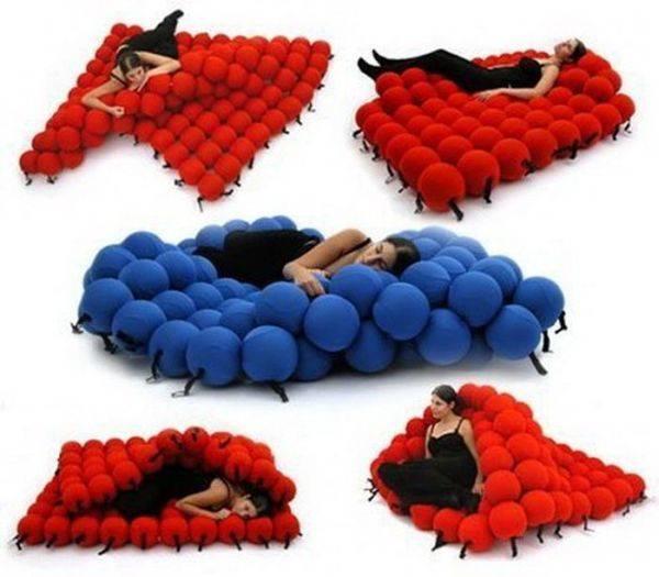 Необычный дизайнерский диван