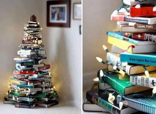 Идеи для нетрадиционной новогодней елки