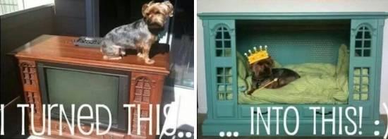Собачий домик своими руками