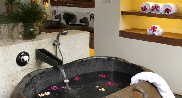 Раковина для ванной в японском стиле