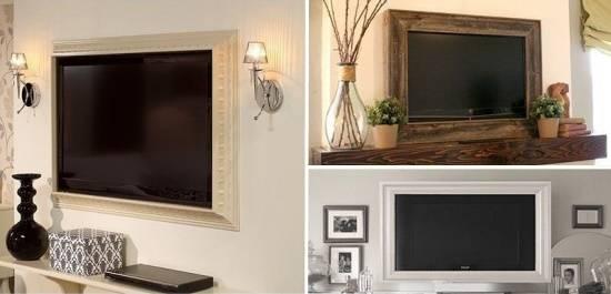 Идея для телевизора в интерьере