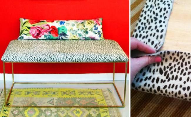 Ремонт мебели степлером