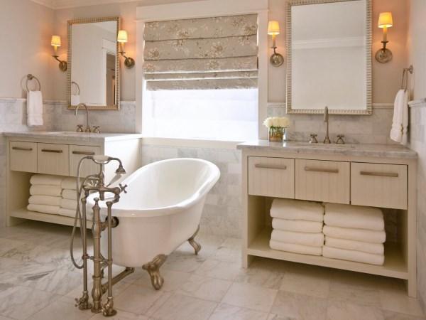 Двойная мебель для ванной комнаты